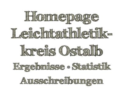 Startseite Leichtathletikkreis Ostalb